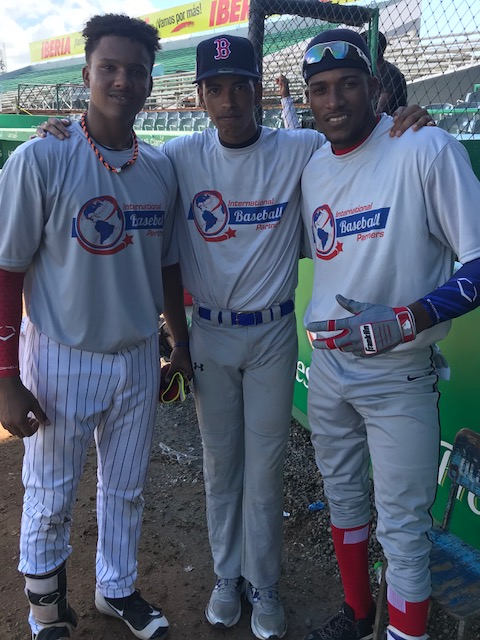 OF Karrel Paz, LHP Lekiam Lopez, OF Miguel Pita